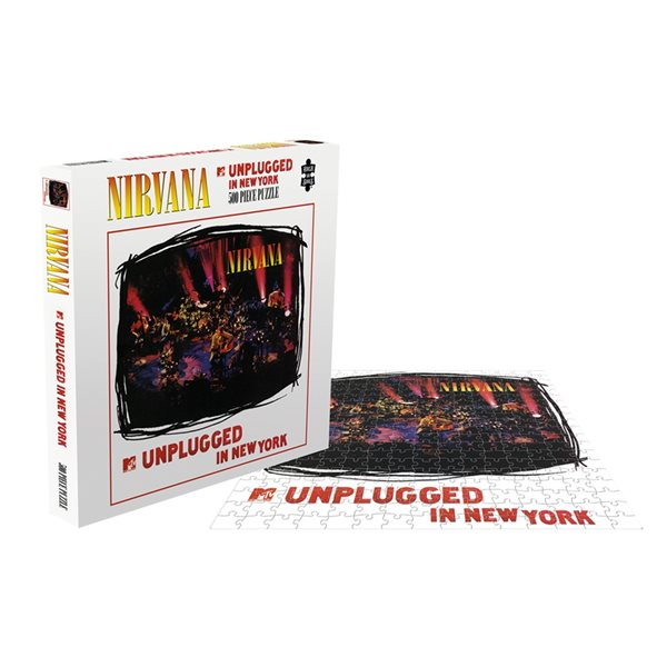 Nirvana Puzzle MTV UNPLUGGED IN NEW YORK