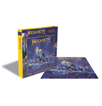Puzzle Megadeth Rust In Peace (500 Piece Jigsaw PUZZLE)