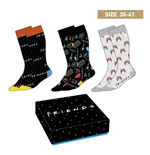 Friends Socken 3er-Pack Symbols 35-41