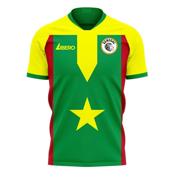 Senegal Fußball T-Shirt 2020/21 Home