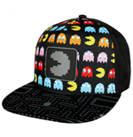Pac-Man Kappe Nintendo All Over Front mit reflektierendem Patch Snapback Hat