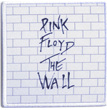 Pink Floyd Aufnäher - Design: The Wall
