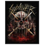 Slayer Aufnäher - Design: Skull & Swords