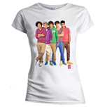 One Direction T-Shirt für Frauen - Design: Group Standing Colour