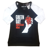 Green Day T-Shirt unisex - Design: American Idiot