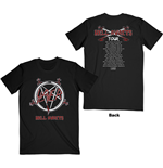 Slayer T-Shirt unisex - Design: Hell Awaits Tour