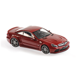 MERCEDES BENZ SL65 AMG BLACK SERIES R230 DARK RED 2009
