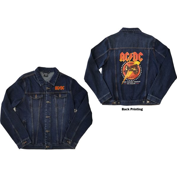 AC/DC Jacke unisex - Design: About To Rock