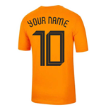 Holland Fussball T-Shirt 2020/21 Personalisierbar
