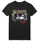 Foo Fighters  T-Shirt unisex - Design: Medicine At Midnight Taped