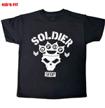 Five Finger Death Punch  T-Shirt für Kinde - Design: Soldier