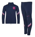 England Fussball Trainingsanzug 2020/21 (Marineblau)