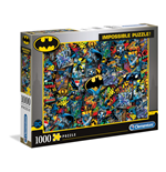 Puzzle Batman Clementoni: Puzzle 1000 Pz - Impossible Puzzle - Batman