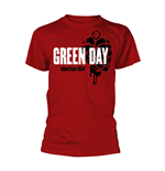 Green Day T-Shirt AMERICAN IDIOT HEART GRENADE