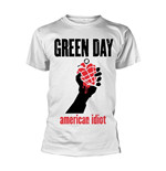 Green Day T-Shirt AMERICAN IDIOT HEART