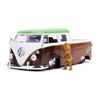 Guardians of the Galaxy Hollywood Rides Diecast Modell 1/24 1962 Volkswagen Bus mit Figur