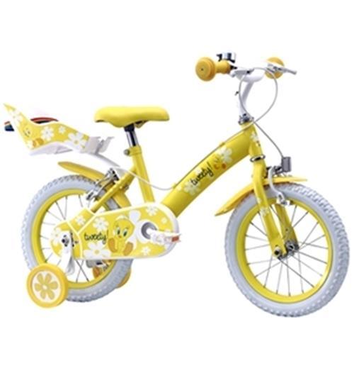 kaufe fahrrad f r m dchentweety gelb piol n gr sse 16. Black Bedroom Furniture Sets. Home Design Ideas