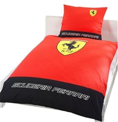 bettw sche classic ferrari logo f r nur 59 17 bei. Black Bedroom Furniture Sets. Home Design Ideas