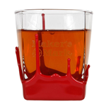 Glas Maker's Mark Ehisky Bourbon Red Wax