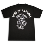 T-Shirt  SONS OF ANARCHY Reaper Arch Logo