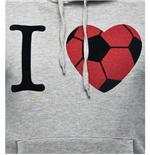 Sweatshirt I Love Football