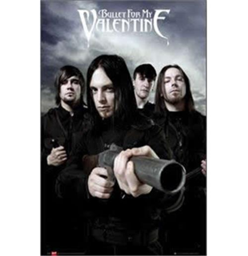 Poster Bullet for my Valentine-Band