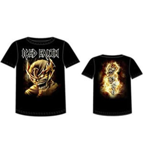T-Shirt Iced Earth-Set Head