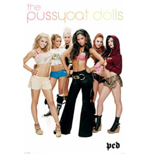 Poster The Pussy Cat Dolls-Group