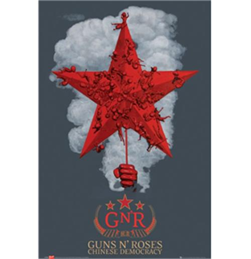 Poster Guns 'N' Roses-Chineses Democracy
