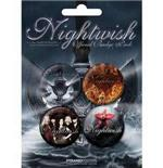 Set Broschen Nightwish-Dark Passion