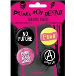 Set Broschen Punks Not Dead