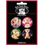 Set Broschen Bad Taste Bears