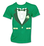 T-Shirt Irish Tuxedo ST. PATRICK'S DAY Novelty