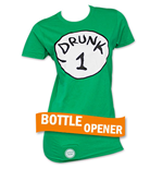 T-Shirt Dr. Seuss Inspired Drunk 1 Bottle Opener für Damen