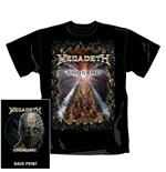 T-Shirt Megadeth End Game. Offizielles Emi Music Produkt