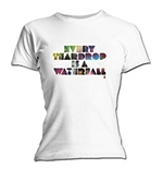 T-Shirt Coldplay Every Teardrop. Offizielles Emi Music Produkt