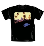 T-Shirt The Eagles Hotel California. Offizielles Emi Music Produkt