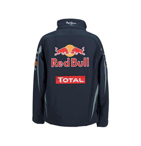 jacke softshell red bull team original kaufen sie online. Black Bedroom Furniture Sets. Home Design Ideas