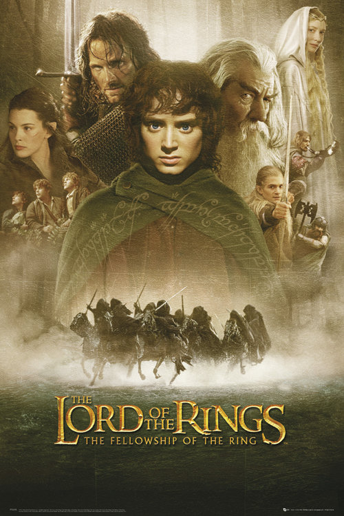 Poster The Lord of the Ring Felloship Of The Ring