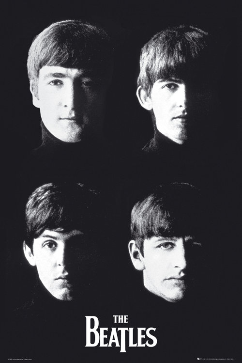 Poster Beatles With The