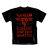T-Shirt Van Halen Whiskey. Offizielles Emi Music Produkt