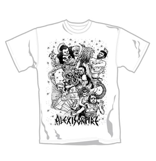 T-Shirt Alexionfire Fight. Offizielles Emi Music Produkt