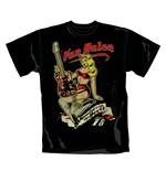 T-Shirt Van Halen Pin Up Guitar.  Offizielles Emi Music Produkt