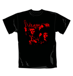 T-Shirt The Clash Band Gun. Offizielles Emi Music Produkt