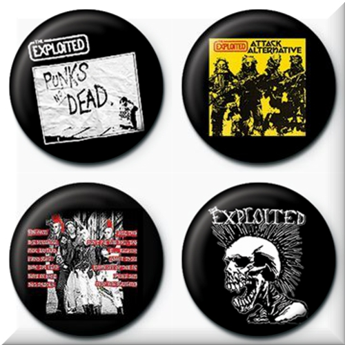Brosche The Exploited