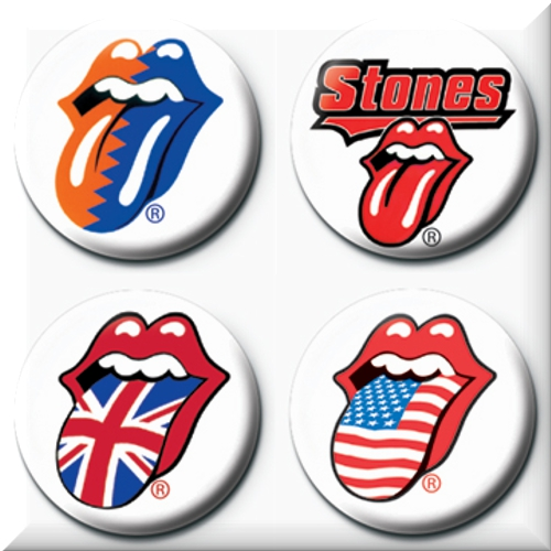 Set Broschen The Rolling Stones