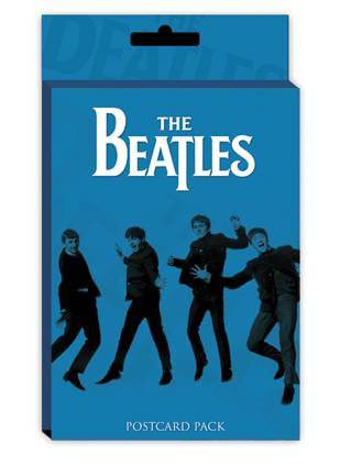 Postkarte Beatles - Blue