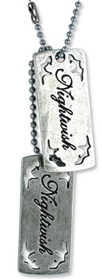 Anhänger Dog Tag Nightwish