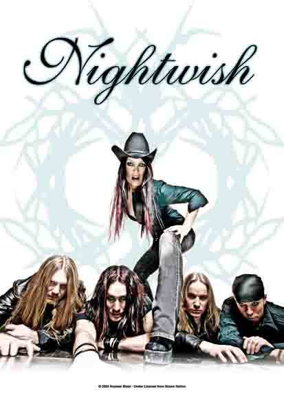Flagge Nightwish - Band