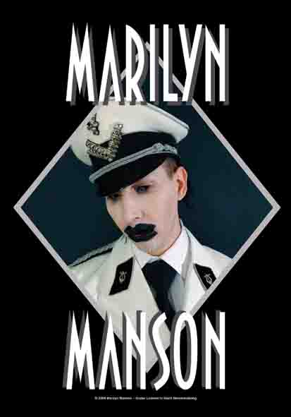 Flagge Marilyn Manson - Officer